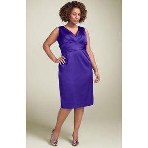 NWT Donna Ricco violet dress. Size 22W